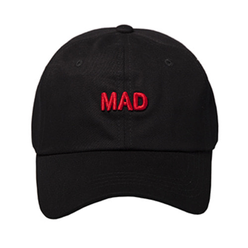 MAD SMALL LOGO BLACK [Ver. Short Strap]