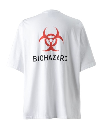 BIOHAZARD BACK POINT (White/Orange)